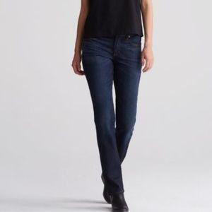 """Eileen Fisher Size 10 Dark Wash """"Straight Jean"""""""